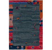 Link to 6' 6 x 9' 6 Shiraz-Gabbeh Rug