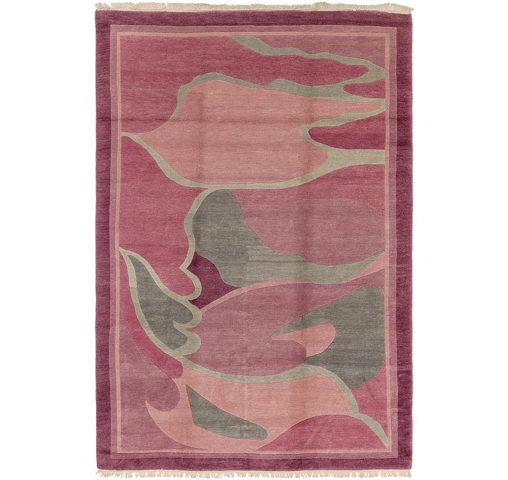 HandKnotted 8' x 12' Nepal Rug