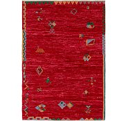 Link to 6' 7 x 9' 9 Shiraz-Gabbeh Rug
