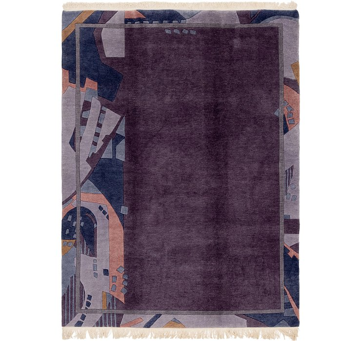 HandKnotted 6' 10 x 9' 5 Nepal Rug