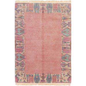 Link to 5' 8 x 8' Nepal Rug item page