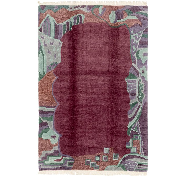 HandKnotted 6' 6 x 9' 8 Nepal Rug