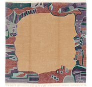 Link to 7' 6 x 7' 8 Nepal Square Rug