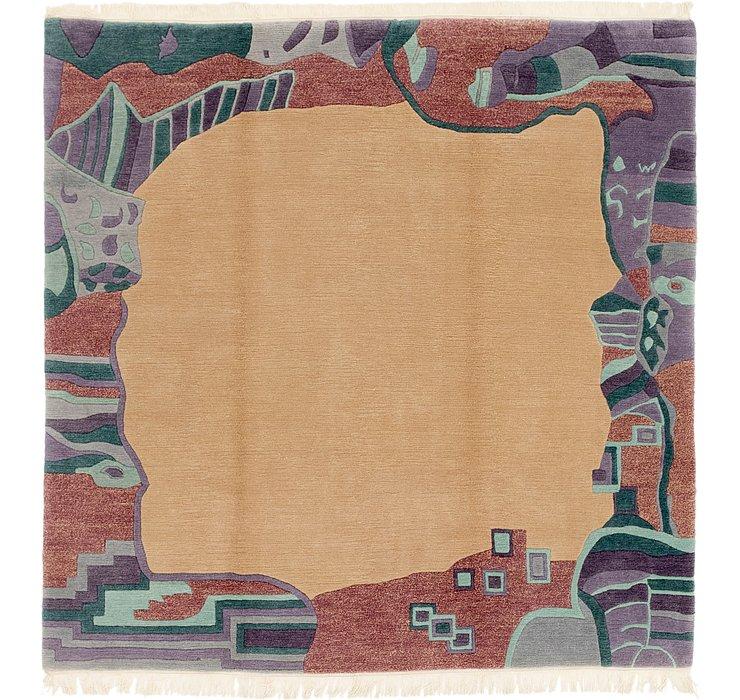 7' 6 x 7' 8 Nepal Square Rug