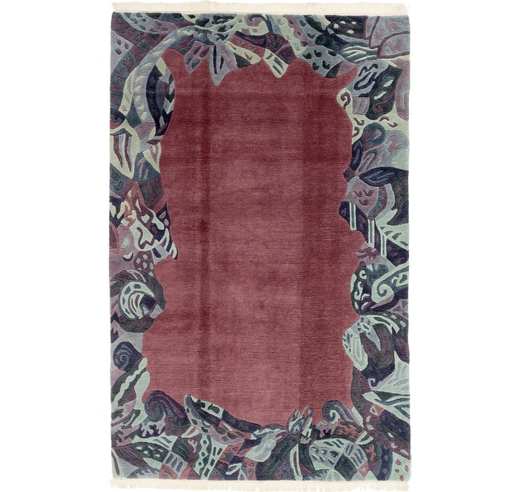 HandKnotted 6' 5 x 9' 10 Nepal Rug
