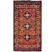 Link to 3' 8 x 7' Ghashghaei Persian Rug
