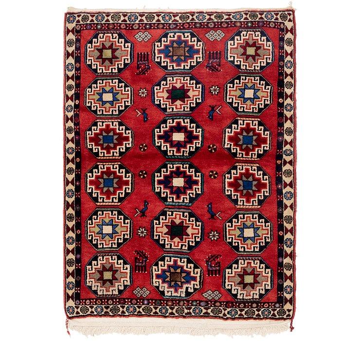 3' 8 x 5' Kelardasht Persian Rug