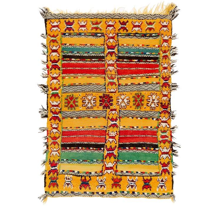 3' x 4' 5 Moroccan Rug
