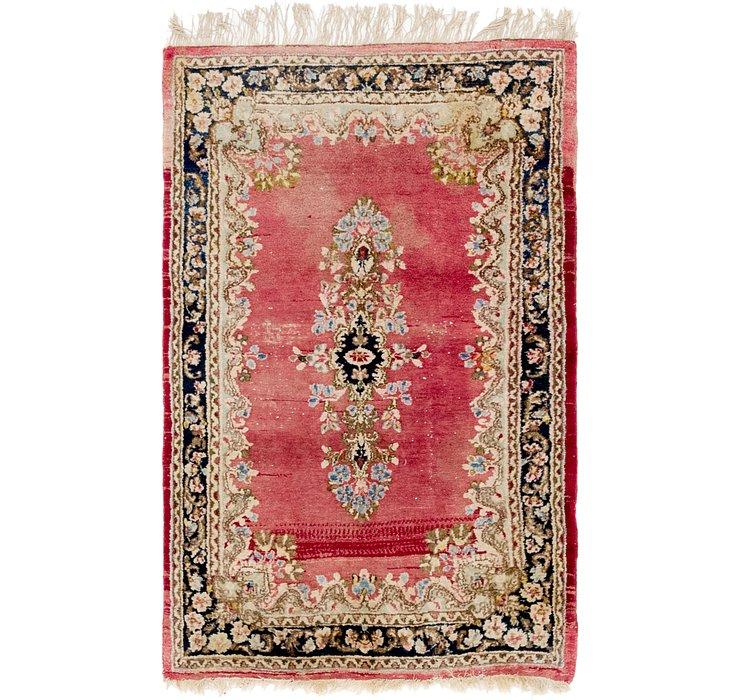 3' x 4' 10 Kerman Persian Rug