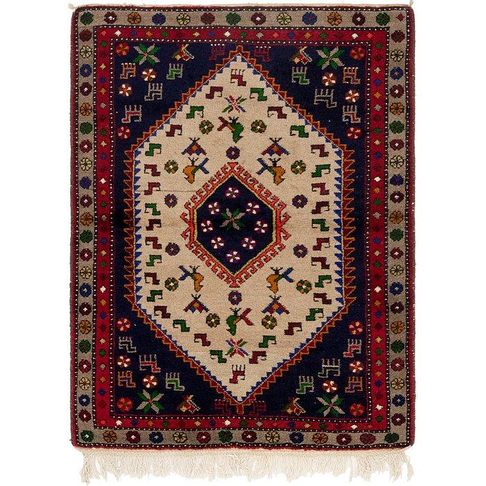 3' 7 x 5' 2 Kelardasht Persian Rug