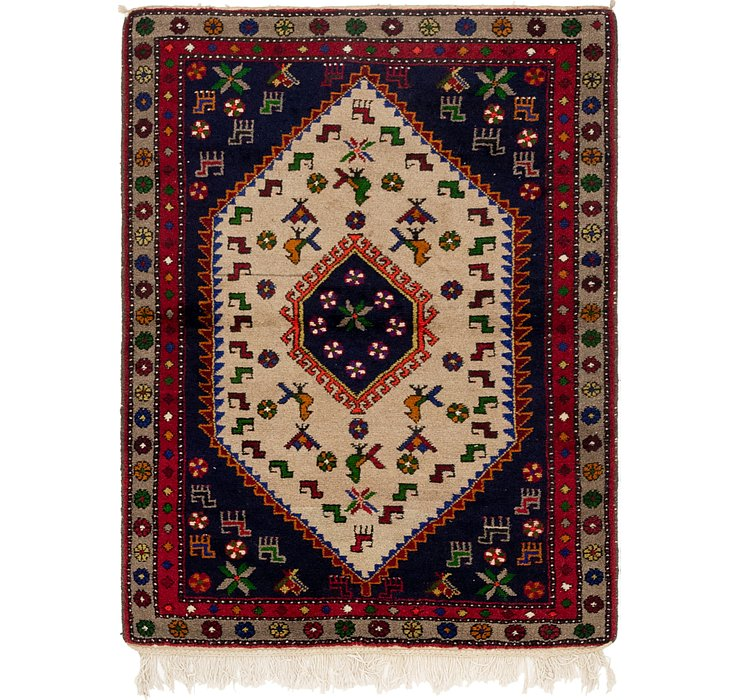 110cm x 157cm Kelardasht Persian Rug