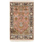 Link to 3' x 4' 10 Kashmir Oriental Rug