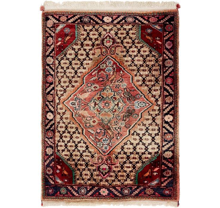 3' 4 x 4' 9 Koliaei Persian Rug