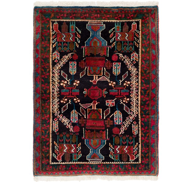 3' 5 x 5' Gholtogh Persian Rug