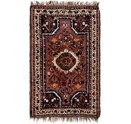 Link to 2' 9 x 4' 6 Shiraz Persian Rug