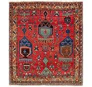 Link to 4' x 4' 6 Meshkin Persian Square Rug