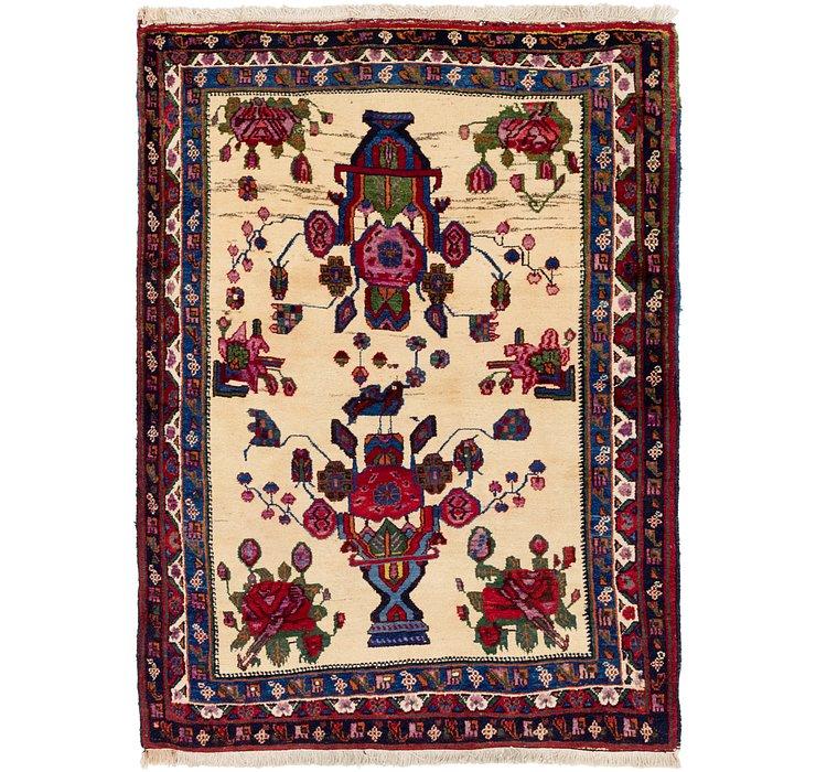 4' x 5' 9 Hamedan Persian Rug
