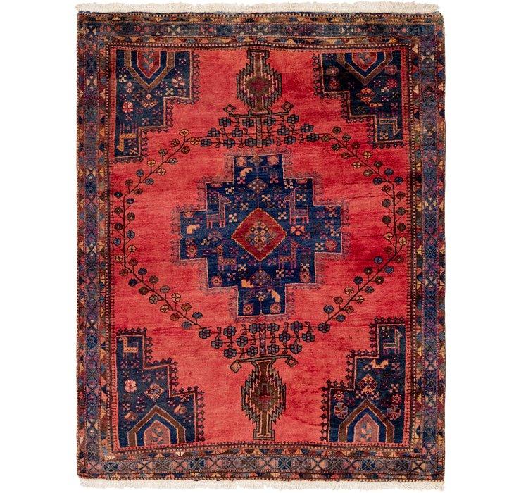 5' x 6' 9 Ghashghaei Persian Rug