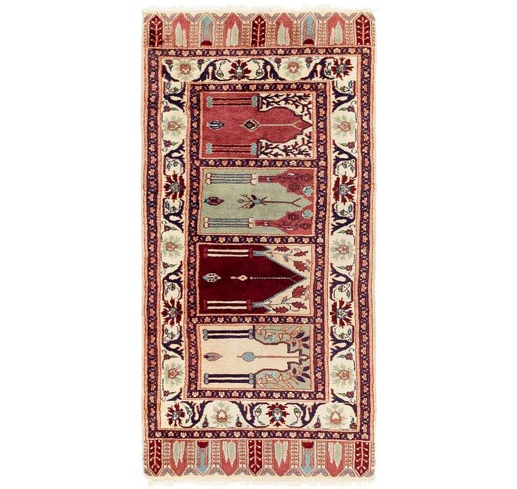 2' 8 x 5' 5 Jaipur Agra Oriental Rug