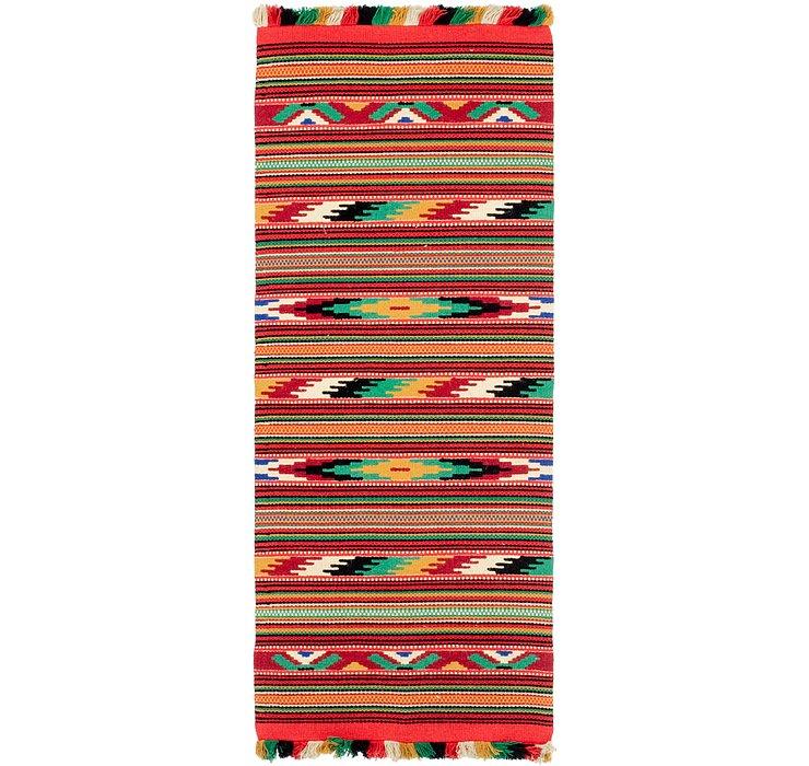 2' 4 x 6' Moroccan Runner Rug