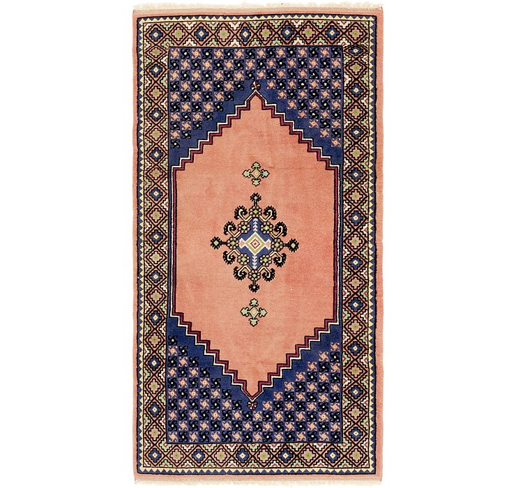 HandKnotted 3' 2 x 6' 3 Moroccan Runner Rug