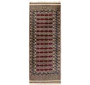 Link to 2' x 5' 8 Bokhara Oriental Runner Rug