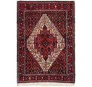 Link to 117cm x 165cm Senneh Persian Rug