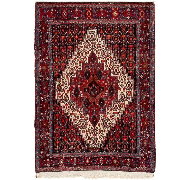 3' 10 x 5' 5 Senneh Persian Rug