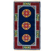 Link to 90cm x 183cm Antique Finish Runner Rug