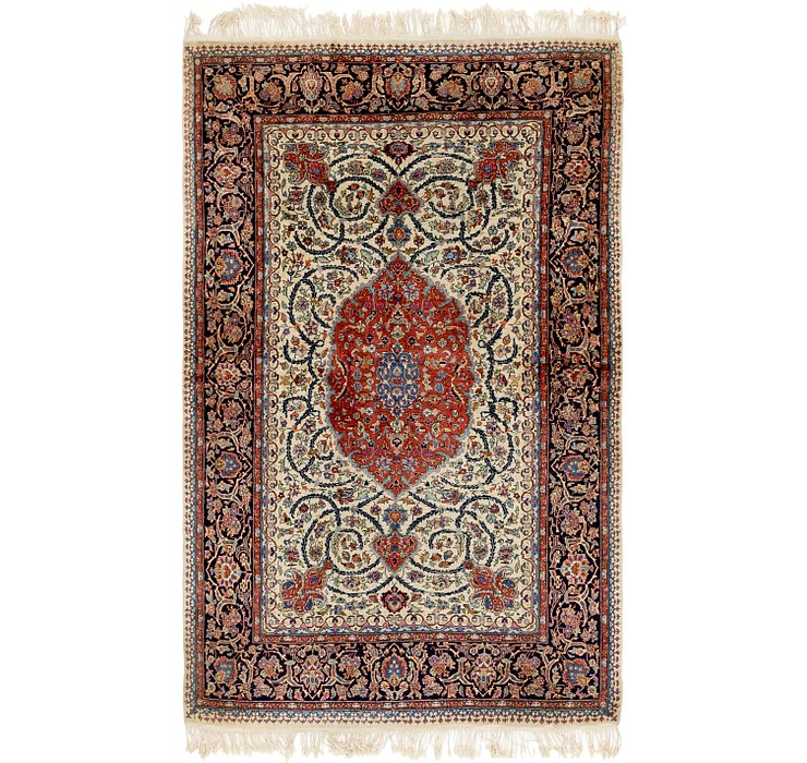 4' 8 x 7' 8 Kashmir Oriental Rug