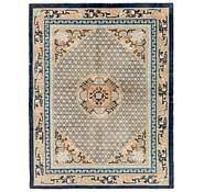 Link to 5' 7 x 7' 6 Antique Finish Oriental Rug