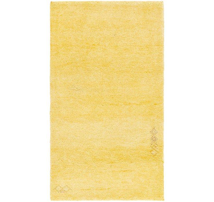 3' x 5' 6 Shiraz-Gabbeh Persian Rug