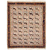 Link to 4' 7 x 5' 7 Shiraz Persian Rug
