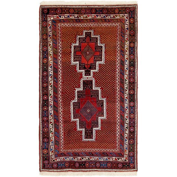 3' 9 x 6' 10 Yalameh Persian Rug