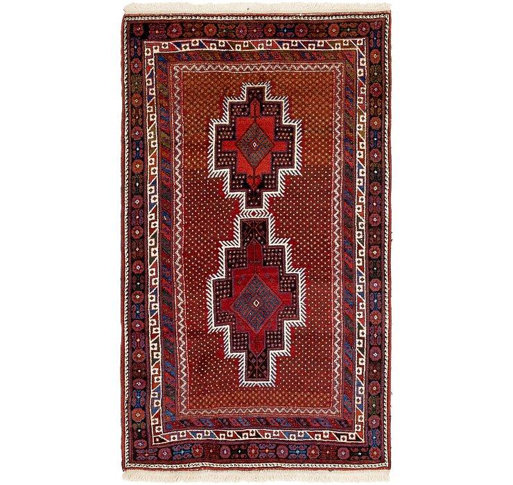 115cm x 208cm Yalameh Persian Rug