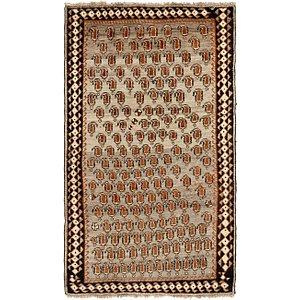 4' 2 x 7' 5 Shiraz Persian Rug