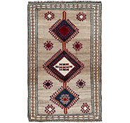 Link to 4' 3 x 7' 2 Shiraz-Gabbeh Persian Rug