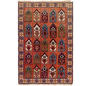 Link to 4' x 6' Yalameh Persian Rug
