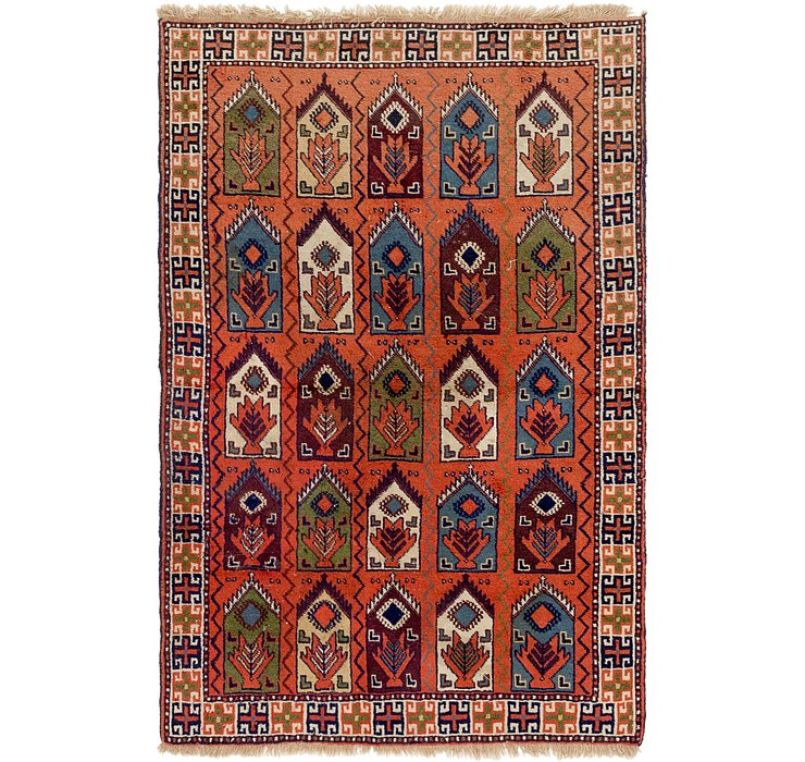 4' x 6' Yalameh Persian Rug