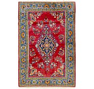 Link to 4' 6 x 6' 6 Mashad Persian Rug
