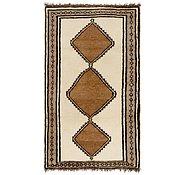 Link to 3' 6 x 6' 8 Shiraz-Gabbeh Persian Rug