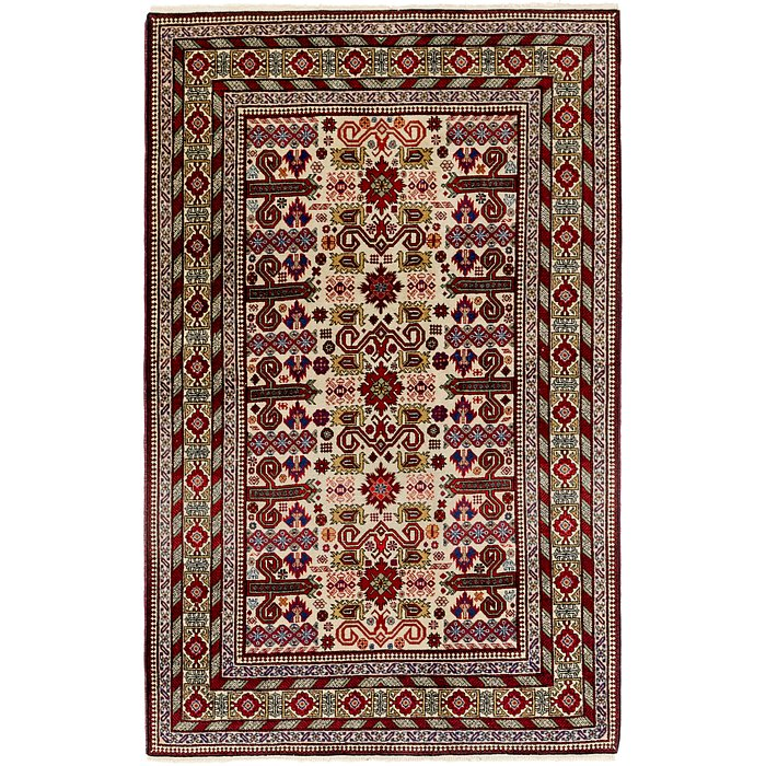 4' 4 x 6' 10 Shirvan Persian Rug