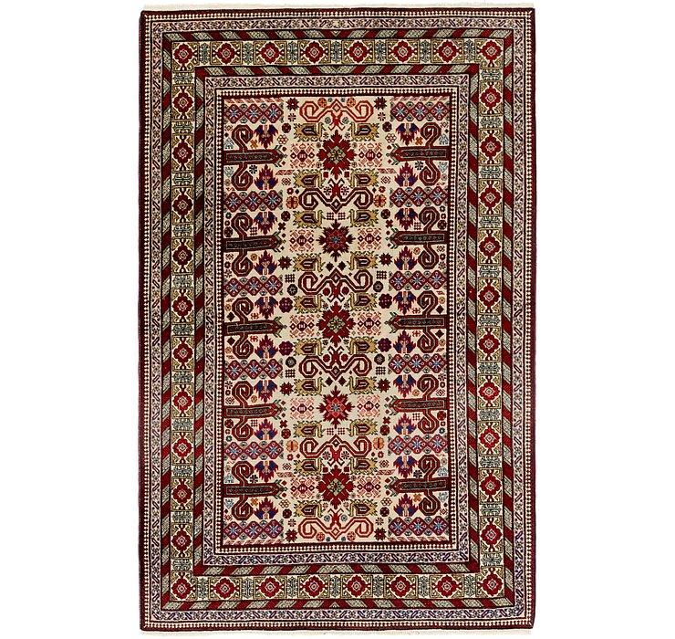 132cm x 208cm Shirvan Persian Rug