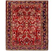 Link to 5' 2 x 6' 2 Hamedan Persian Rug