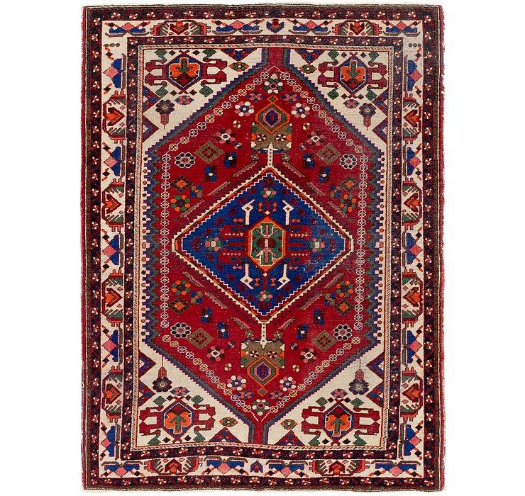 4' 10 x 6' 8 Maymeh Persian Rug