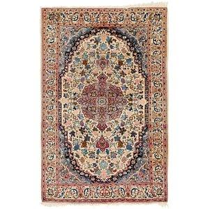 4' 2 x 7' Sarough Persian Rug