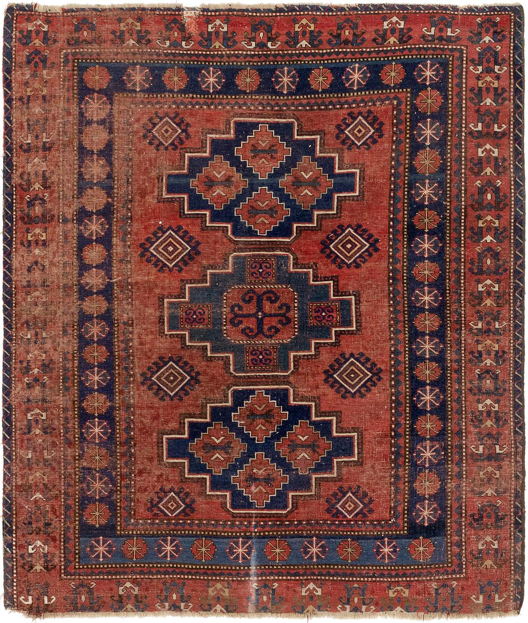Red Handknotted 5 10 X 6 9 Balouch Persian Square Rug Persian