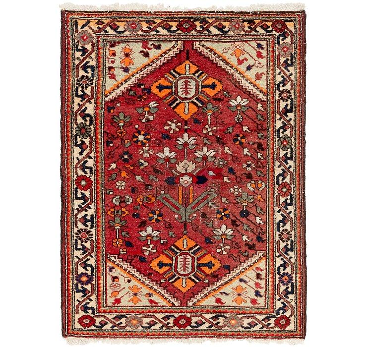 4' 5 x 6' 4 Hamedan Persian Rug