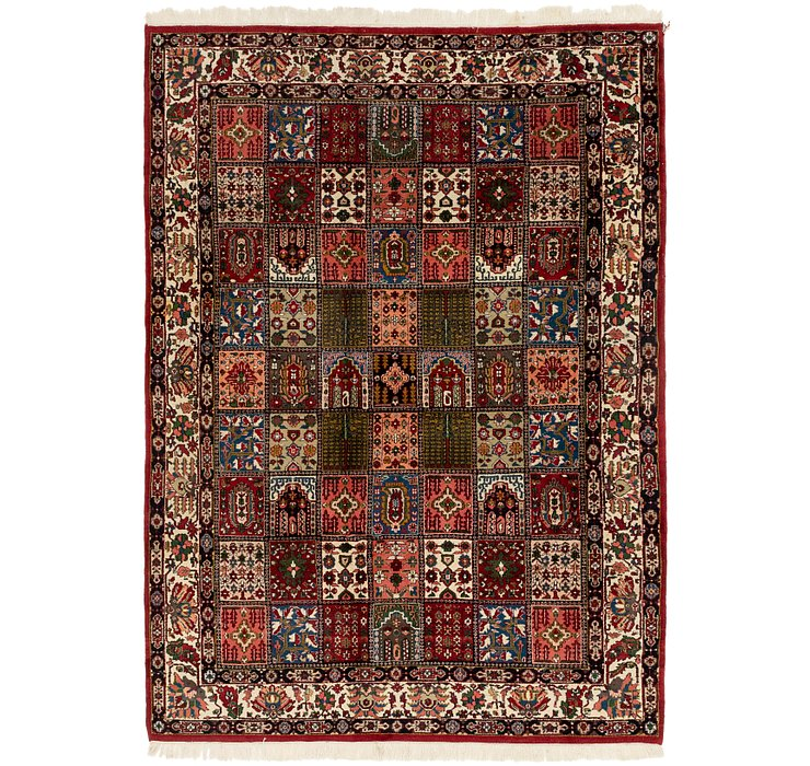 6' 7 x 9' 3 Bakhtiar Oriental Rug