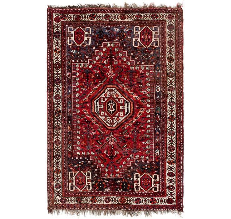 5' 6 x 8' 6 Ghashghaei Persian Rug